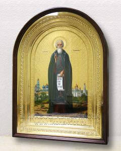 Икона «Сергий Радонежский, преподобный» (образец №54)