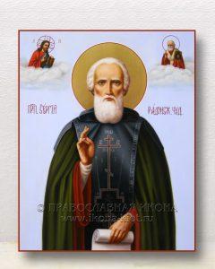 Икона «Сергий Радонежский, преподобный» (образец №55)