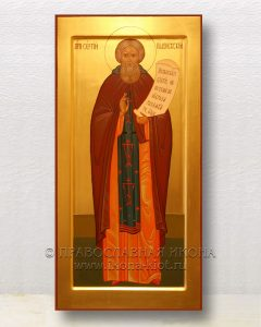 Икона «Сергий Радонежский, преподобный» (образец №56)