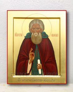Икона «Сергий Радонежский, преподобный» (образец №6)