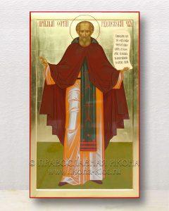 Икона «Сергий Радонежский, преподобный» (образец №60)