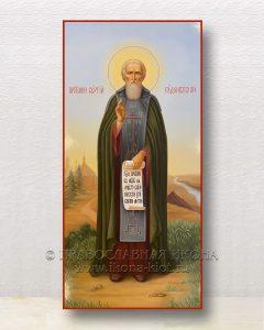 Икона «Сергий Радонежский, преподобный» (образец №61)
