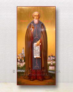 Икона «Сергий Радонежский, преподобный» (образец №62)
