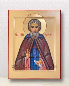 Икона «Сергий Радонежский, преподобный» (образец №63)