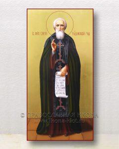 Икона «Сергий Радонежский, преподобный» (образец №64)