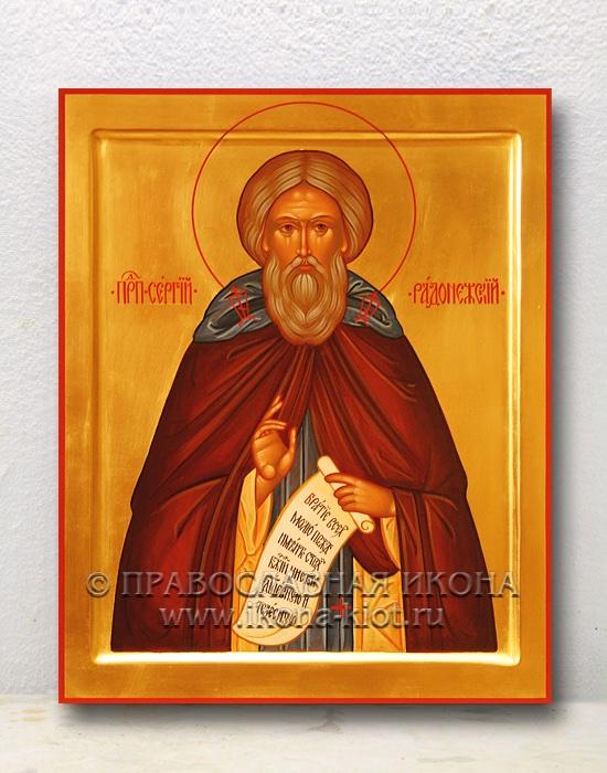 Икона «Сергий Радонежский, преподобный» (образец №8)