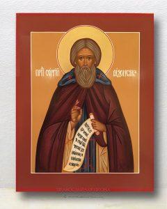 Икона «Сергий Радонежский, преподобный» (образец №9)