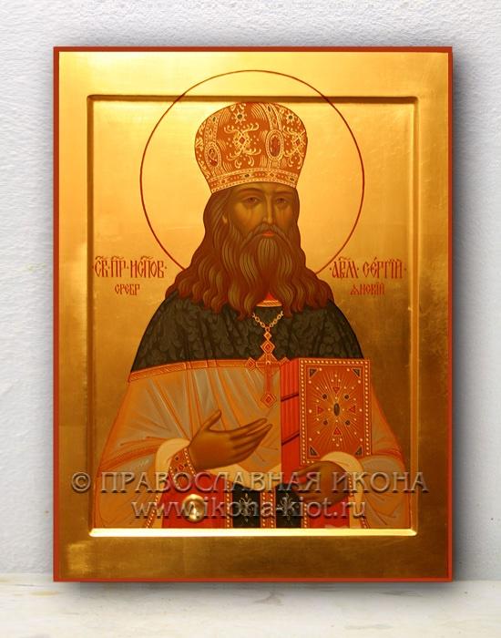 Икона «Сергий Сребрянский, преподобноисповедник»