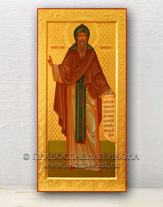 Икона «Сергий Валаамский, чудотворец» (образец №1)