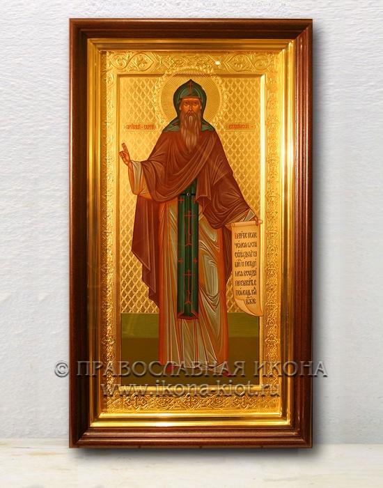 Икона «Сергий Валаамский, чудотворец» (образец №5)