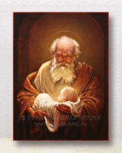 Икона «Симеон Богоприимец, праведный»