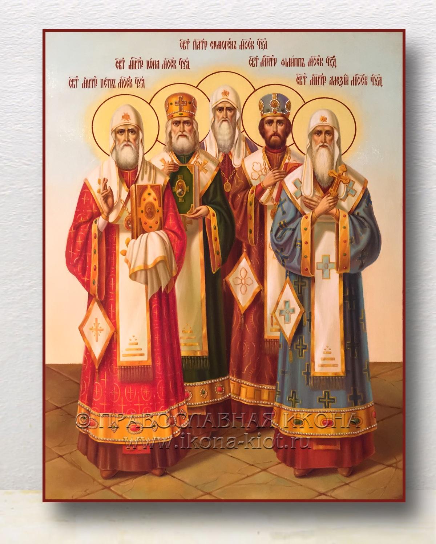 Икона «Собор митрополитов»