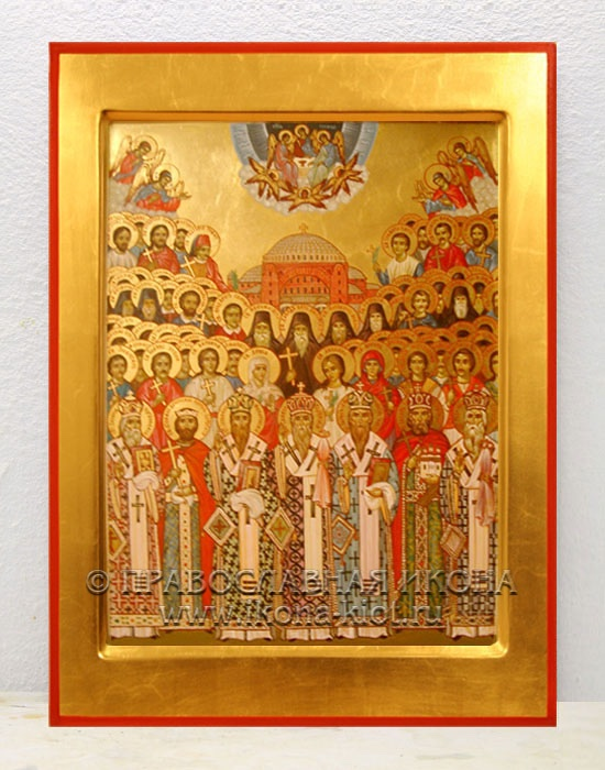 Икона «Собор Новгородских Cвятых»