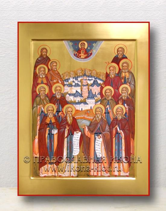 Икона «Собор преподобных Оптинских старцев» (образец №5)