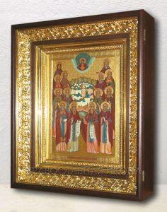 Икона «Собор преподобных Оптинских старцев» (образец №6)