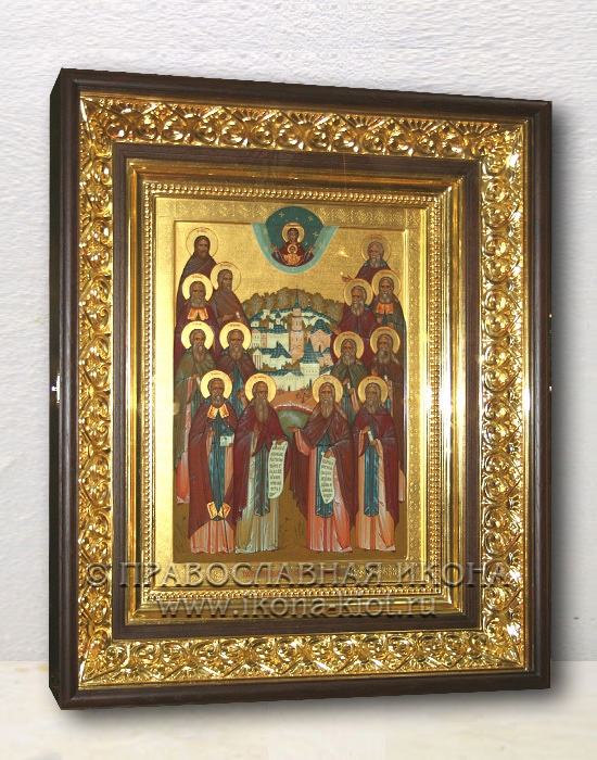 Икона «Собор преподобных Оптинских старцев» (образец №7)