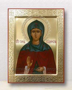 Икона «София Суздальская, преподобная»