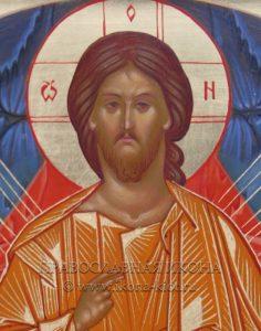 Икона «Спас в силах» (образец №4)