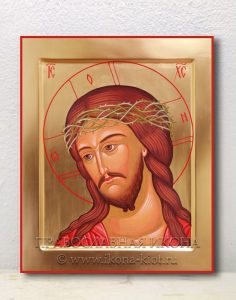 Икона «Спас в терновом венце» (образец №2)