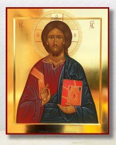 Икона «Спас Вседержитель» (образец №24)