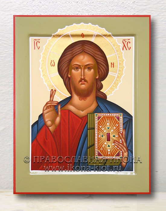 Икона «Спас Вседержитель» (образец №37)