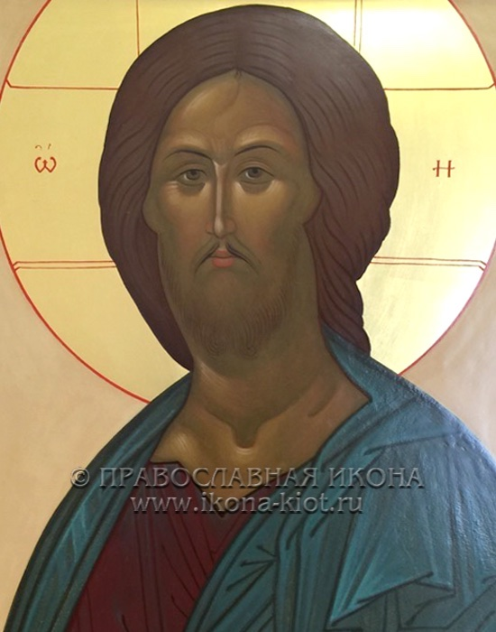 Икона «Спас из Звенигородского чина» (образец №2)