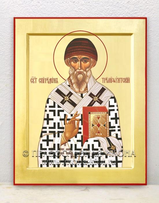 Икона «Спиридон Тримифунтский, святитель» (образец №2)