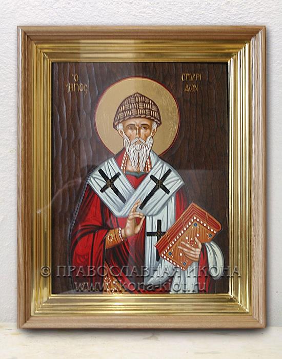 Икона «Спиридон Тримифунтский, святитель» (образец №12)
