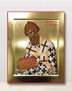 Икона «Спиридон Тримифунтский, святитель» (образец №17)