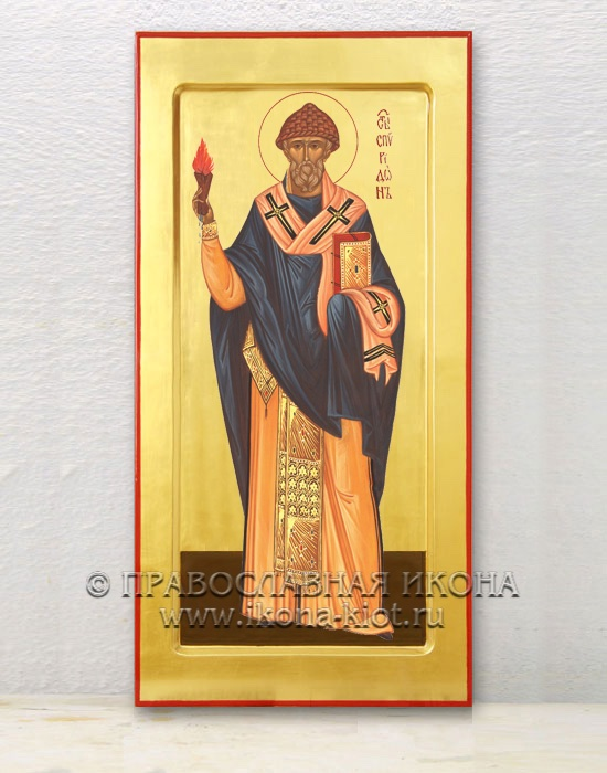 Икона «Спиридон Тримифунтский, святитель» (образец №3)