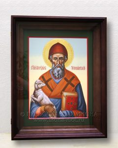 Икона «Спиридон Тримифунтский, святитель» (образец №25)
