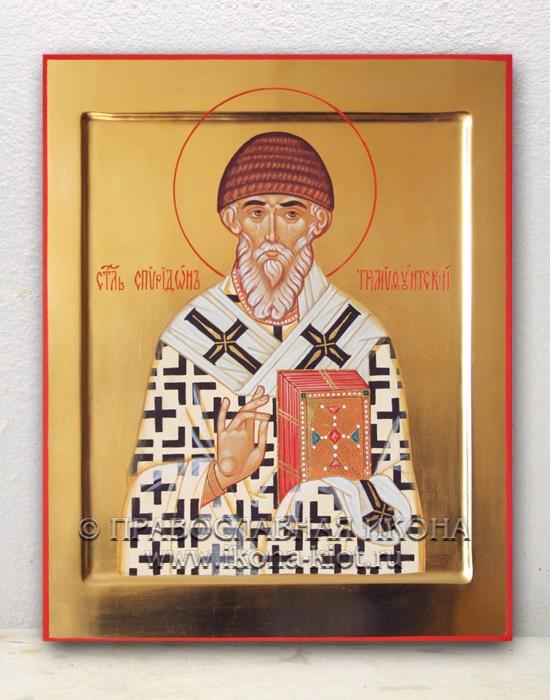 Икона «Спиридон Тримифунтский, святитель» (образец №4)