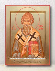 Икона «Спиридон Тримифунтский, святитель» (образец №5)