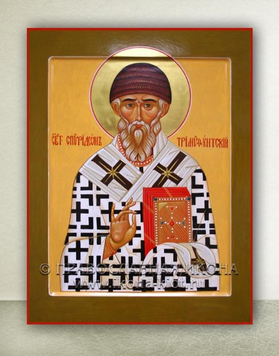 Икона «Спиридон Тримифунтский, святитель» (образец №6)