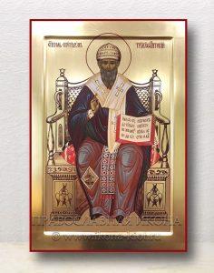 Икона «Спиридон Тримифунтский, святитель» (образец №7)