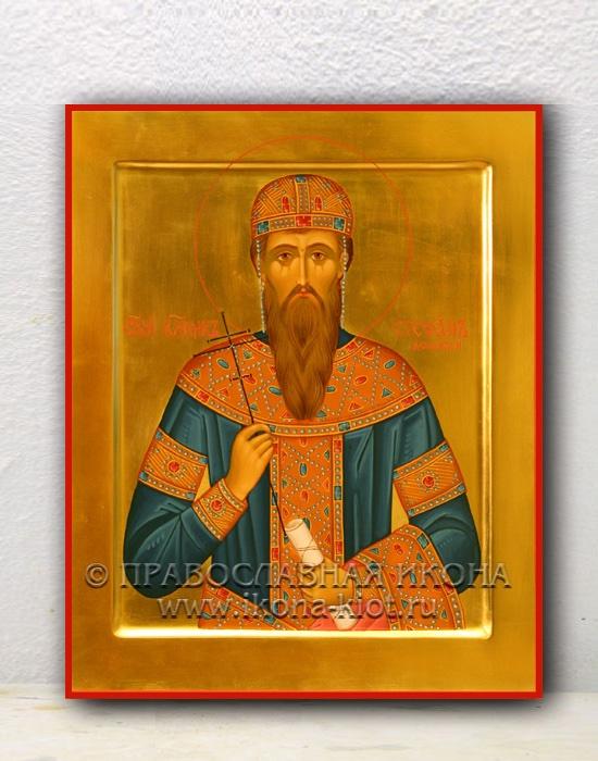 Икона «Стефан Дечанский (Урош III), король» (образец №1)