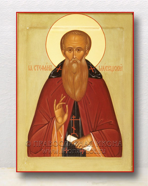 Икона «Стефан Махрищский, преподобный»