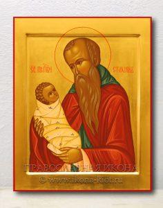 Икона «Стилиан Пафлагонянин, преподобный» (образец №1)