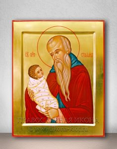 Икона «Стилиан Пафлагонянин, преподобный» (образец №2)