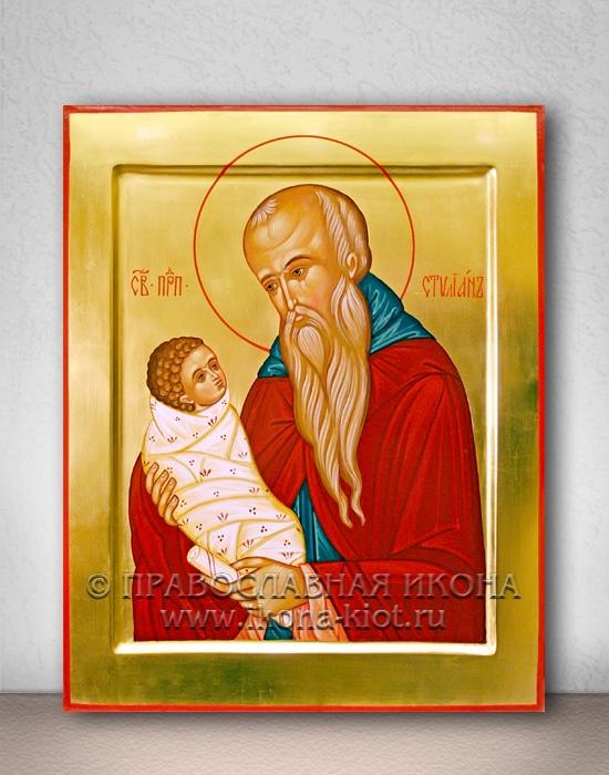 Икона «Стилиан Пафлагонянин, прп.» (образец №2)