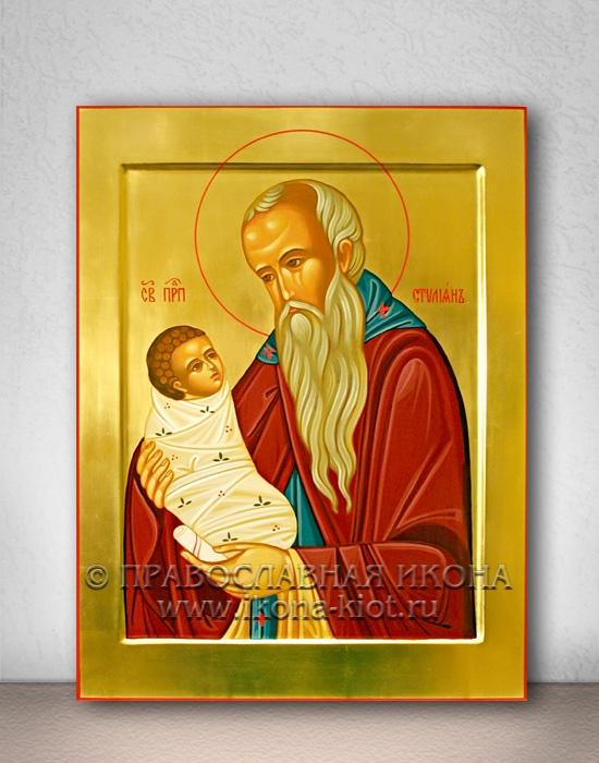 Икона «Стилиан Пафлагонянин, прп.» (образец №3)
