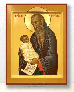 Икона «Стилиан Пафлагонянин, преподобный» (образец №4)