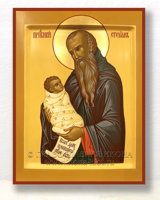 Икона «Стилиан Пафлагонянин, прп.» (образец №4)