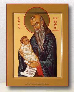 Икона «Стилиан Пафлагонянин, преподобный» (образец №5)