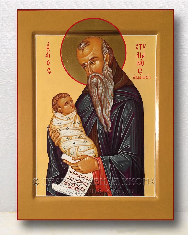 Икона «Стилиан Пафлагонянин, прп.» (образец №5)
