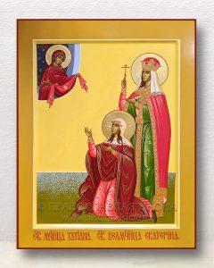 Икона «Татьяна мученица и Екатерина великомученица»