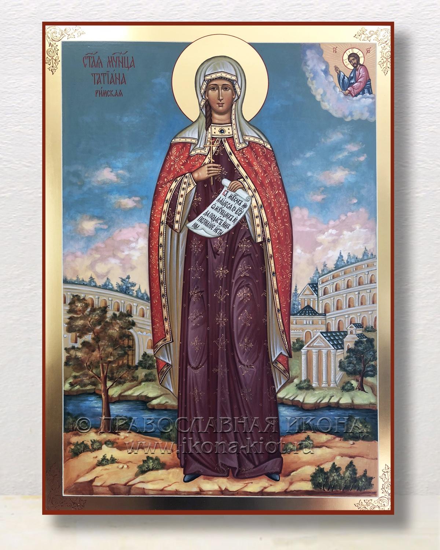 Икона «Татьяна Римская, мученица» (образец №7)