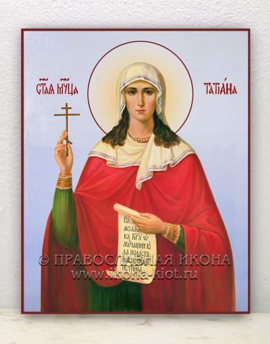 Икона «Татьяна Римская, мученица» (образец №2)