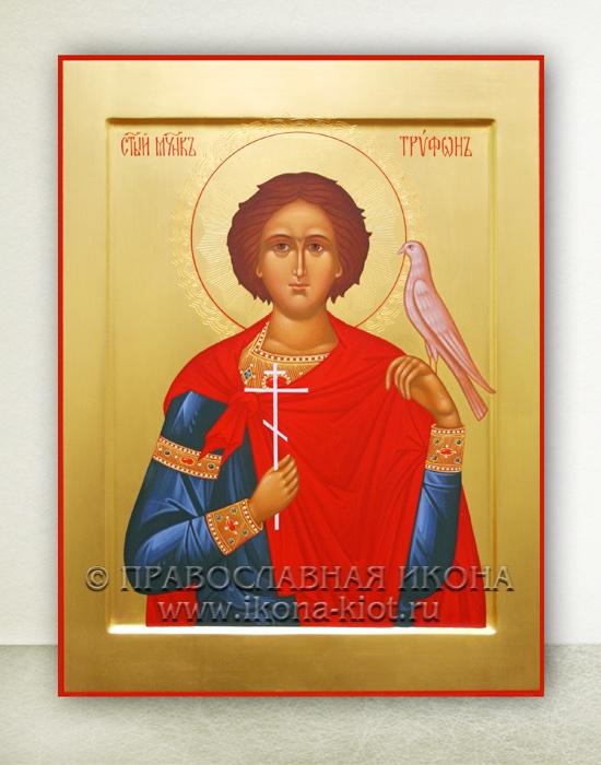 Икона «Трифон, святой мученик» (образец №2)