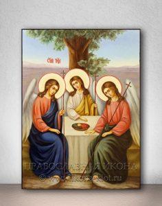 Икона «Святая Троица» (образец №12)